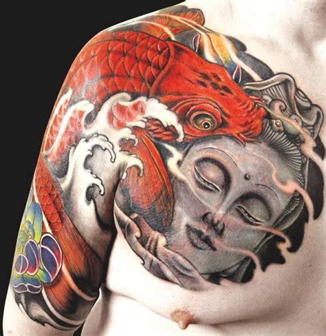 carpe koi signification tatouage carpe koi