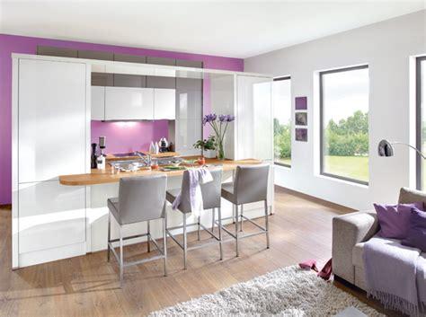 deco salon cuisine ouverte decoration cuisine salon aire ouverte