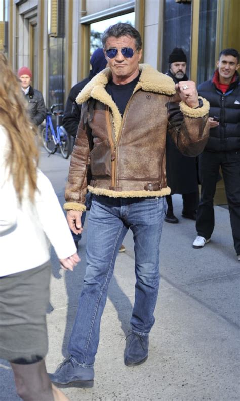 stallone sylvester avirex pearl harbor usa cockpit b3 jackets jacket did beverly word leather sly hollywood blouson 1942 wwii bombardier