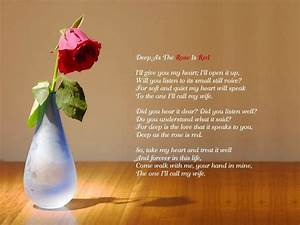 Beautiful love quotes for her with rose flower images ...