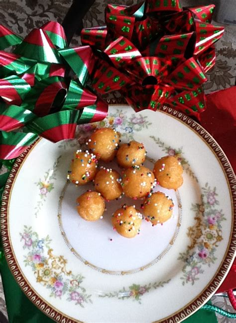 art project for italian christmas tradition struffoli an italian tradition the family dinner project the family dinner project