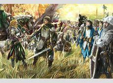 Eomer and Aragorn by Abe Papakhian Kącik rohańskiej