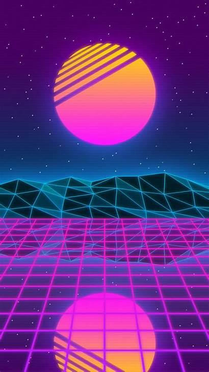 Vaporwave Aesthetic Backgrounds Desktop Iphone Wallpapers Retro