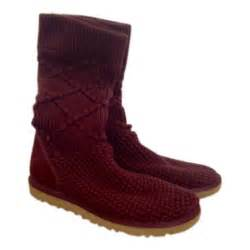 ugg sale germany burgundy ugg boots vestiaire collective