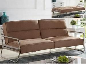 Canapé Convertible Confortable : canap convertible 2 places confortable voir ~ Melissatoandfro.com Idées de Décoration