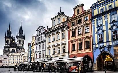 Town European Wallpapers Prague Android Square Laptop