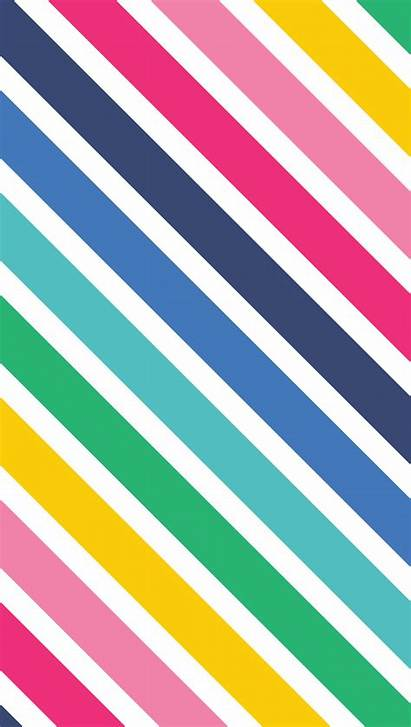 Stripes Rainbow Wallpapers Pop Iphone Emily Striped