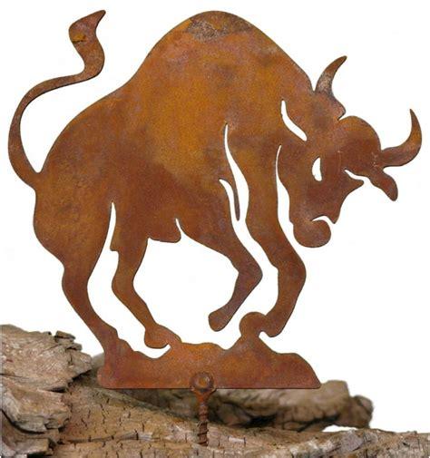 stier sternzeichen sternzeichen stier als baumstecker zum einschrauben in holz 12 cm