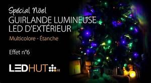 Guirlande Lumineuse Led Exterieur : guirlande lumineuse led d 39 ext rieur multicolore tanche ~ Melissatoandfro.com Idées de Décoration