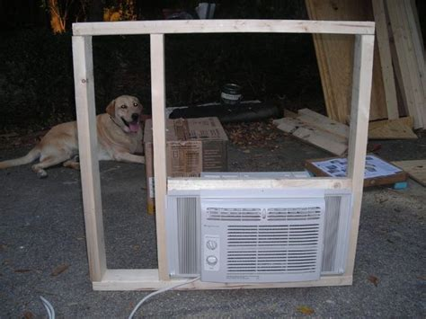 ideas  dog house air conditioner