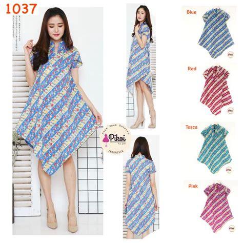 dress lancip batik modern dress batik murah dress