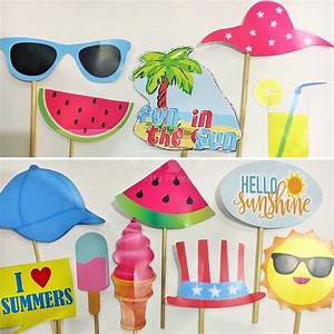 Summer And Pool Party Stick Props – KittyPartyy com