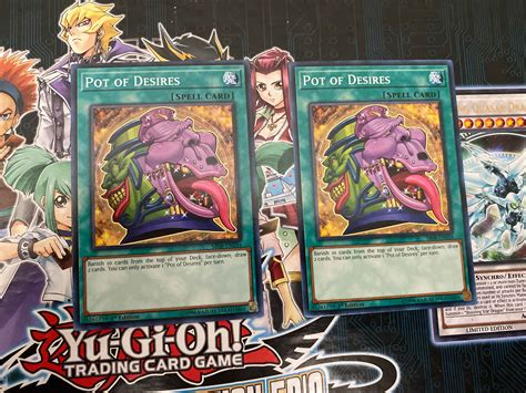 We did not find results for: Pot of Desires SR08-EN034 1st Edition Common Yugioh Card