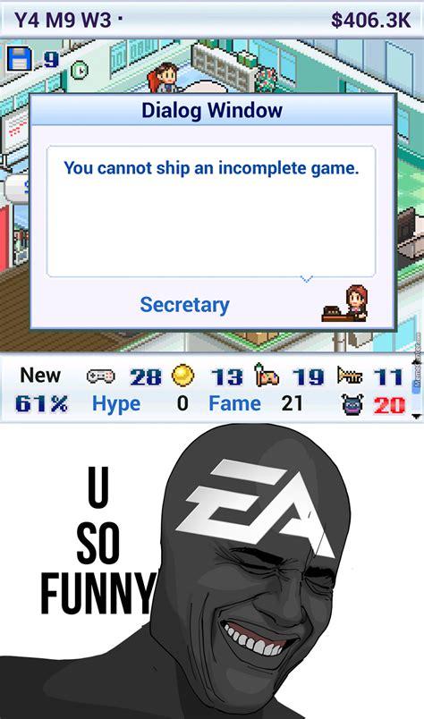 Ea Memes - ea games in a nutshell by photoshoper meme center