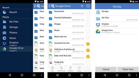 winzip for android 5 best zip rar and unzip apps for android pyntax