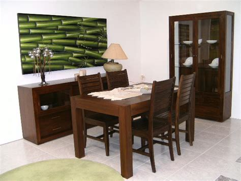muebles de comedor madera