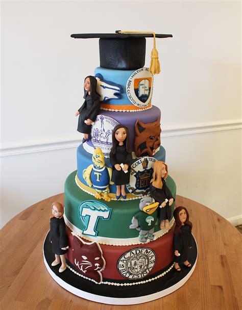 graduation cake ideas graduation cakes class of 2017 oakleafcakes