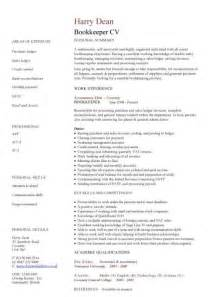 Areas Of Expertise On A Resume by The Best Bookkeeper Resume Sle Writing Resume Sle Writing Resume Sle