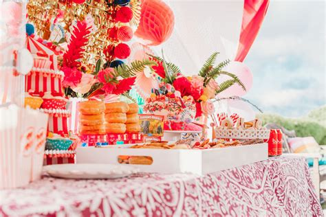 karas party ideas greatest showman inspired circus party