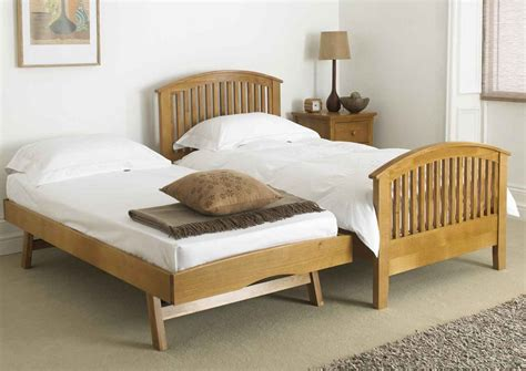 wooden trundle with folding legs bunk beds pinterest