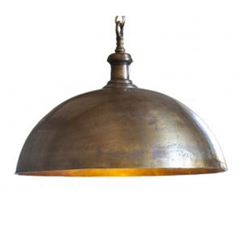 elk lighting farmhouse tarnished brass pendant light