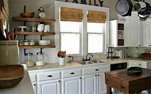 idee decoration cuisine avec rangements ouverts With idee deco cuisine avec accessoire cuisine design