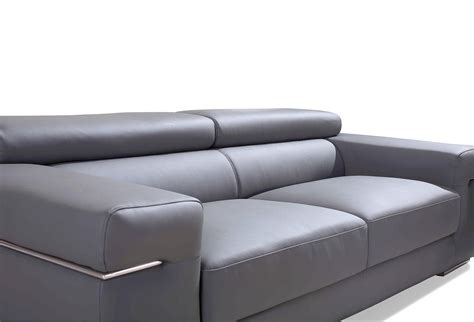 canape gris cuir canape 3 places cuir canap 3 places relax cuir but