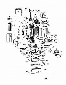 Wind Tunnel Bagless Diagram  U0026 Parts List For Model