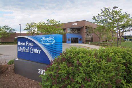 Henry Ford Livonia henry ford center livonia henry ford health