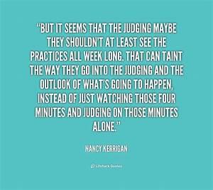 Judging Quotes. QuotesGram