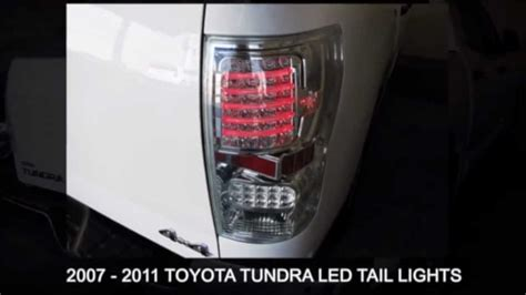 toyota tundra 2007 2011 led aftermarket light autos