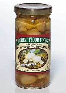dark bergamo pickled mushrooms forest floor foods With forest floor foods