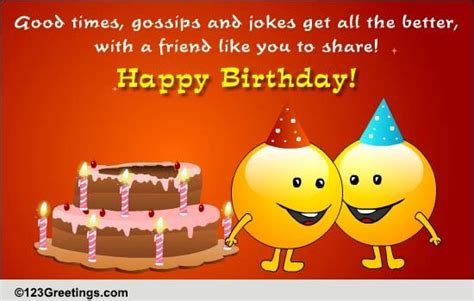 friends birthday    friends ecards greeting cards