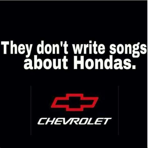 Chevy Honda Song