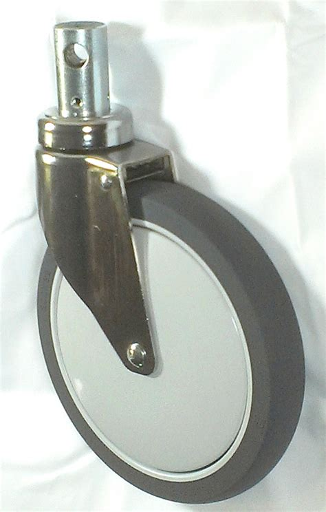 central locking casters hospital bed casters  stretcher replacement casters hill rom