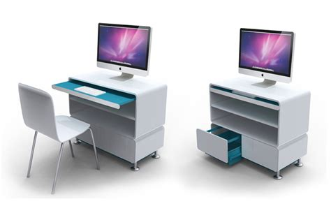 imac stand and desk