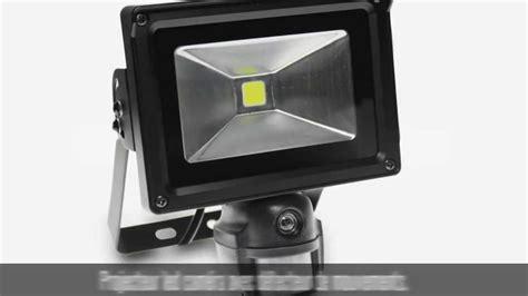 projecteur led avec détecteur de mouvement projecteur led 233 ra 233 tanche 10w avec d 233 tecteur de mouvements