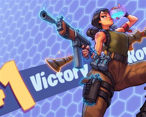 wallpaper fortnite girl  gun game