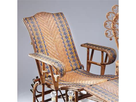 chaise longue rotin ancienne 119 chaise longue en rotin ancienne dolce lounge chair
