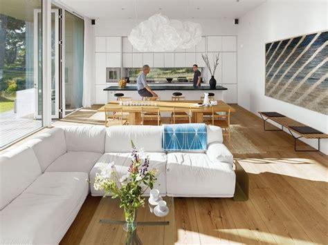 cuisine en l ouverte sur salon cuisine ouverte sur salon une solution pour tous les espaces