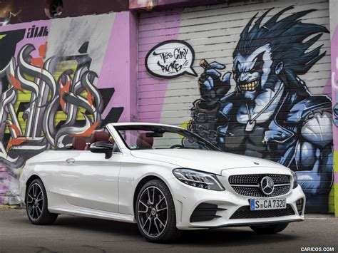 Starting in july 2019, more models will feature eq boost. 2019 Mercedes-Benz C-Class C300 Cabrio (Color: Diamond White) - Front Three-Quarter   Wallpaper ...