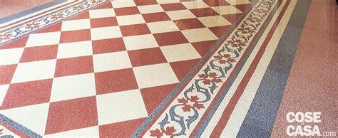 lucidare pavimento graniglia casa soluzioni hi tech per interni anni 30 cose di casa