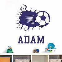 perfect soccer wall decals Perfect Soccer Wall Decals - Home Design #923