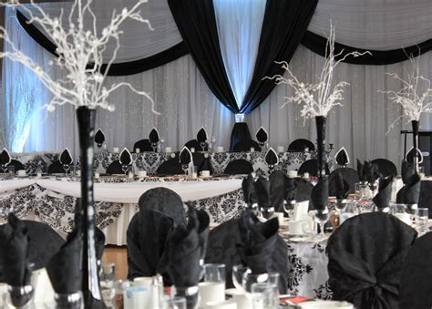 black and white damask wedding by carol rame