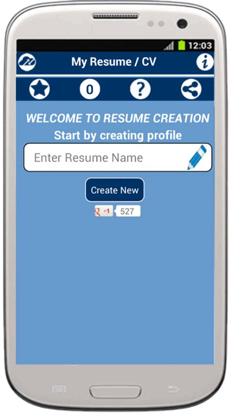 My Resume Builder Free by My Resume Builder Cv Free Android Apps On Play