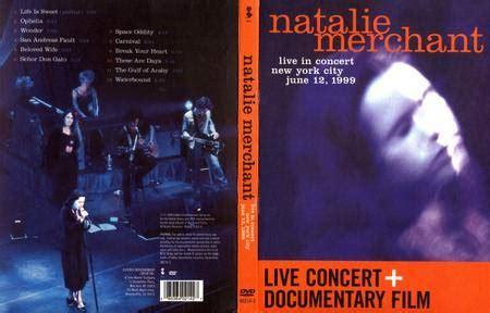 Natalie Merchant  Live In Concert (1999) Cd & Dvd Releases Avaxhome