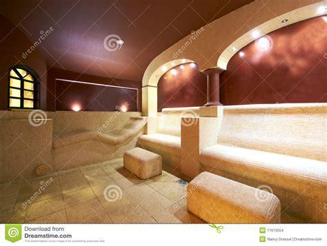 Caldarium Aroma Steamroom Sauna Stock Photo   Image of