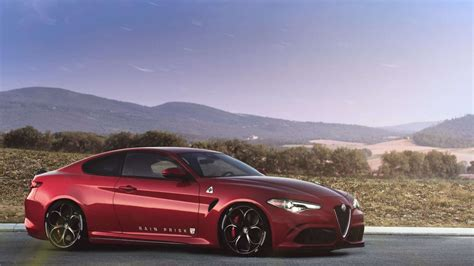 Alfa Romeo Giulia Coupé Coming Next Year To Rival The Bmw