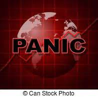 Panic Graph Represents Infograph Anxiety And Diagram