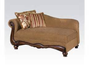 livingroom chaise acme furniture living room chaise 50312 gallery furniture medford ny